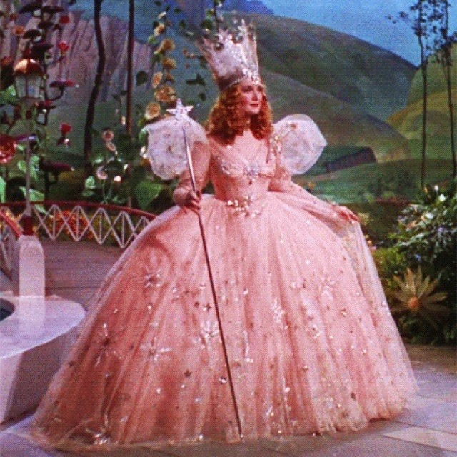 Miriam as Good Witch Glinda in Wizard of Oz